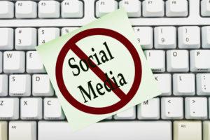 Social Media verboten