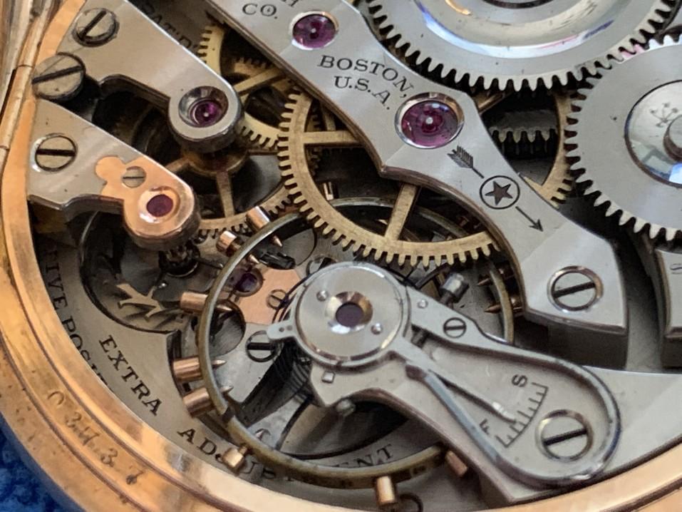 wunderschönes mechanisches Uhrwerk